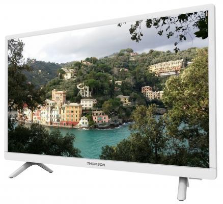 Фото Телевизор Thomson T24E20DH-01W белый. Купить в РФ