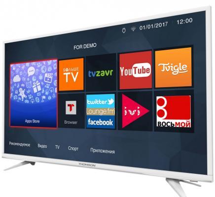 Фото Телевизор Thomson T43D19SFS-01W белый. Купить в РФ
