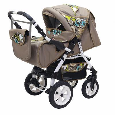 Прогулочная коляска Teddy BartPlast Etude PKLO (07/коричневый) прогулочная коляска teddy bear sl 106 blue owl