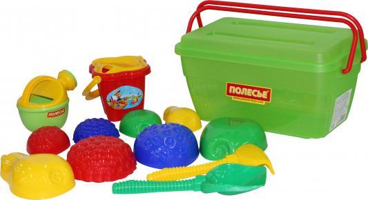 Песочный набор Полесье в контейнере 501 6 предметов 50175