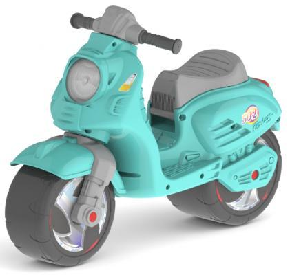 Каталка-мотоцикл RT Скутер аквамарин ОР502