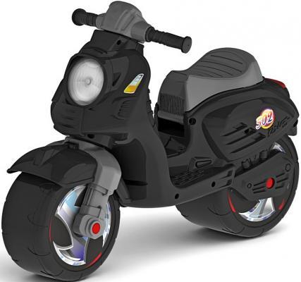 Каталка-мотоцикл RT Скутер черный ОР502