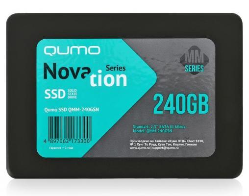 """SSD Твердотельный накопитель 2.5"""" 240GB QUMO QMM-240GSN SATAIII"""