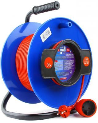 Удлинитель Power Cube PC-B1-K-50 оранжевый 1 розетка 50 м