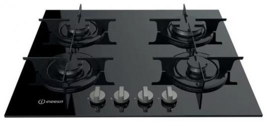 Варочная панель газовая Indesit PR 642 /I (BK) черный