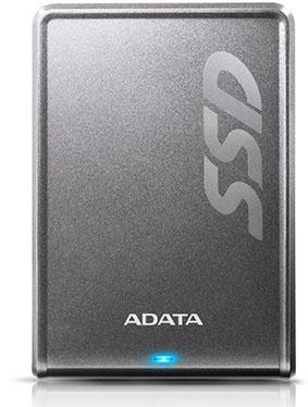 "Внешний жесткий диск 2.5"" USB3.0 256Gb Adata SV620H ASV620H-256GU3-CTI серебристый"
