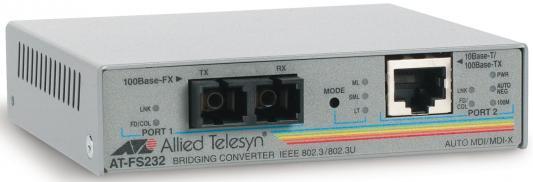 Медиаконвертер Allied Telesis AT-FS232/1-60