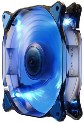 Фото Вентилятор COUGAR CF-D14HB-B 140x140x25мм 3pin 1000rpm синий. Купить в РФ