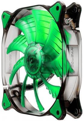 Вентилятор COUGAR CF-D14HB-G 140x140x25мм 3pin 1000rpm зеленый