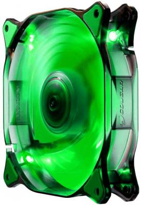 Фото Вентилятор COUGAR CF-D14HB-G 140x140x25мм 3pin 1000rpm зеленый. Купить в РФ