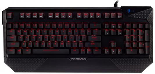 Клавиатура проводная Tesoro Durandal V2 USB черный
