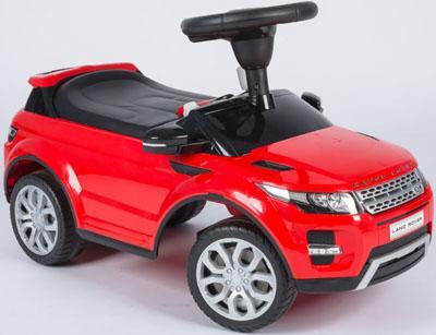 Каталка-машинка R-Toys Land Rover Evoque красный от 1 года пластик 156767