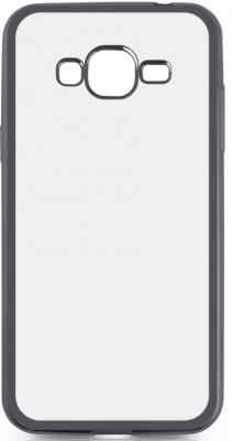 Чехол силиконовый DF sCase-36 для Samsung Galaxy J2 Prime/Grand Prime 2016 с рамкой серый