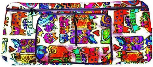 Чехол-портмоне Y-SCOO 125 Кошки разноцветный