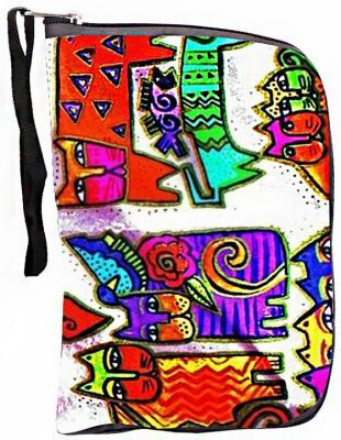 Фото Чехол-портмоне Y-SCOO 125 Кошки разноцветный. Купить в РФ