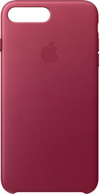 Чехол (клип-кейс) Apple Leather Case для iPhone 7 Plus бордовый MPVU2ZM/A