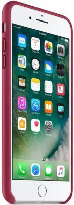 Фото Чехол (клип-кейс) Apple Leather Case для iPhone 7 Plus бордовый MPVU2ZM/A. Купить в РФ