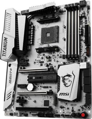 купить Мат. плата для ПК MSI X370 XPOWER GAMING TITANIUM Socket AM4 AMD X370 4xDDR4 3xPCI-E 16x 3xPCI-E 1x 6xSATAIII ATX Retail недорого