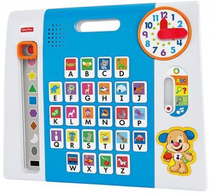 Интерактивная игрушка Fisher Price Обучающая панель ученого щенка с технологией Smart Stages (DWR69) от 2 лет разноцветный цена