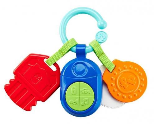 Игрушка-прорезыватель Fisher Price Ключики разноцветный с рождения музыкальная прорезыватель macik слон милаш разноцветный с 3 месяцев