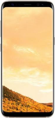 """Смартфон Samsung Galaxy S8 желтый топаз 5.8"""" 64 Гб NFC LTE Wi-Fi GPS 3G SM-G950FZDDSER"""