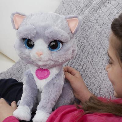 Фото Интерактивная игрушка Hasbro FurReal Frends котенок Бутси B5936 от 4 лет разноцветный. Купить в РФ