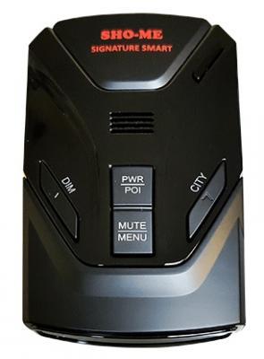 Фото Радар-детектор Sho-Me Signature Smart GPS. Купить в РФ