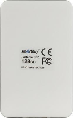 """Фото Внешний жесткий диск 1.8"""" USB3.0 SSD 128Gb SmartBuy S3 SB128GB-S3DW-18SU30 белый. Купить в РФ"""