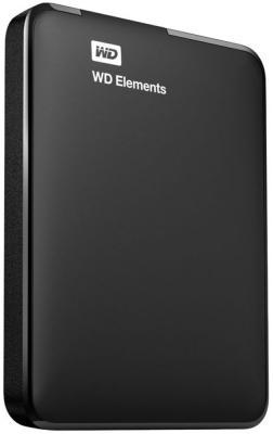 Внешний жесткий диск 2.5 USB3.0 500 Gb Western Digital WDBUZG5000ABK-WESN черный внешний жесткий диск western digital wdbuzg0010bbk wesn 1tb wdbuzg0010bbk wesn