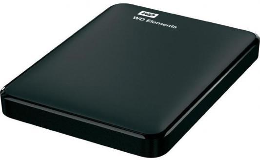 """Фото Внешний жесткий диск 2.5"""" USB3.0 500 Gb Western Digital WDBUZG5000ABK-WESN черный. Купить в РФ"""