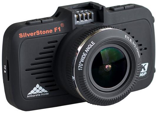 """Видеорегистратор Silverstone F1 A-70SHD 2.7"""" 2304x1296 5Mp 170° microSD microSDHC датчик движения USB HDMI черный"""
