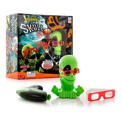 Тир Johnny the Skull 3D Джонни-Черепок зеленый