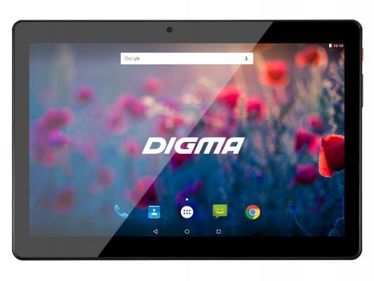 "Планшет Digma Plane 1710T 4G 10.1"" 8Gb черный Wi-Fi 3G Bluetooth 4G Android PS1092ML"