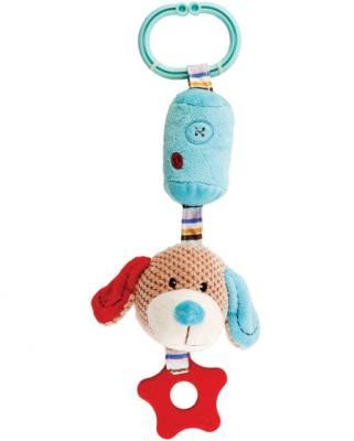 """Развивающая игрушка Жирафики Подвеска с колокольчиком и прорезывателем """"Собачка Билли"""" 939329"""