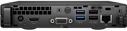 """Фото Неттоп 23"""" HP 260 G2 DM 1920 x 1080 Intel Core i3-6100U 4Gb SSD 256 Intel HD Graphics 520 DOS черный 1QM09ES. Купить в РФ"""