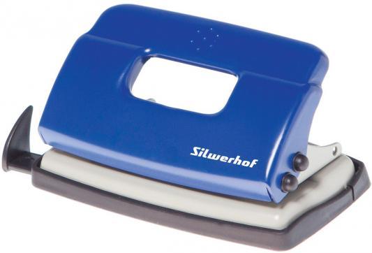 Фото Дырокол Silwerhof Debut 10 листов синий 392029-02. Купить в РФ