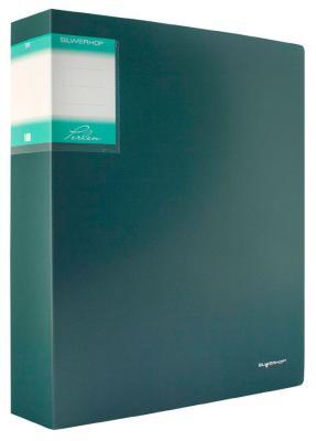 Папка с 100 файлами Silwerhof Perlen А4 1.2мм карман зеленый металлик 291900-75 от 123.ru