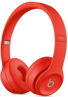 Наушники Apple Beats Solo 3 Wireless красный MP162ZE/A bluetooth гарнитура beats powerbeats 3 wl красный mnly2ze a