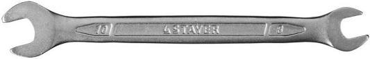 Фото Ключ Stayer Profi рожковый 8х10мм 27035-08-10. Купить в РФ