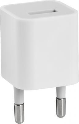 Сетевое зарядное устройство Defender EPA-01 1A 83534 USB 1A белый