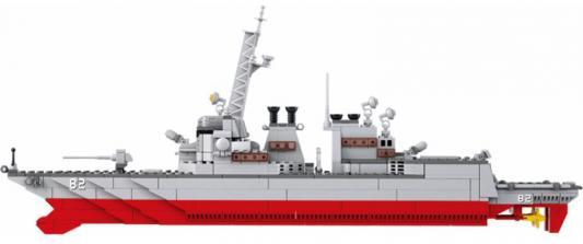 Фото Конструктор SLUBAN Военно морской флот Авианосец-крейсер 615 элементов  M38-B0390. Купить в РФ
