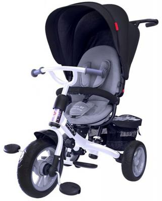 "Велосипед RT ICON evoque Stroller by Natali Prigaro EVA ONYX 10""/8"" серый"