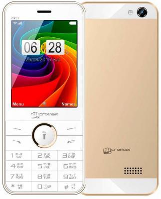 """Мобильный телефон Micromax X913 золотистый белый 2.8"""" 32 Мб"""