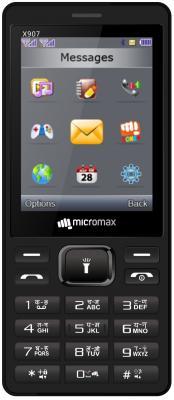 """Мобильный телефон Micromax X907 черный 2.8"""""""