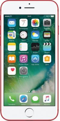 "Смартфон Apple iPhone 7 красный 4.7"" 256 Гб NFC LTE Wi-Fi GPS 3G MPRM2RU/A"