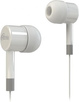 Наушники Ritmix RH-003 белый аудио наушники ritmix гарнитуры ritmix rh 565m gaming