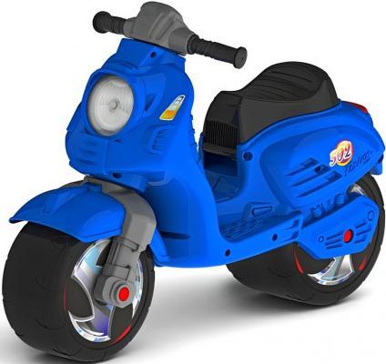 Каталка-мотоцикл RT Скутер синий ОР502