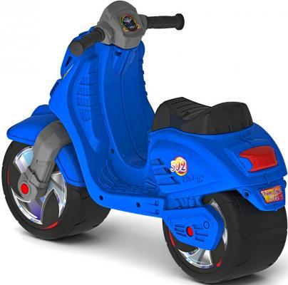 Фото Каталка-мотоцикл RT Скутер синий ОР502. Купить в РФ