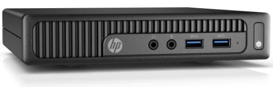 "Фото Компьютер 23"" HP 260 G2 DM 1920 x 1080 Intel Core i3-6100U 4Gb SSD 256 Intel HD Graphics 520 Windows 10 Professional черный 1QM08ES. Купить в РФ"