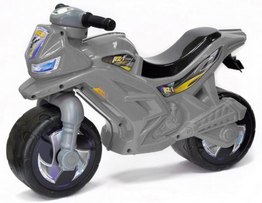 Каталка-мотоцикл RT Racer RZ 1 серый ОР501в3